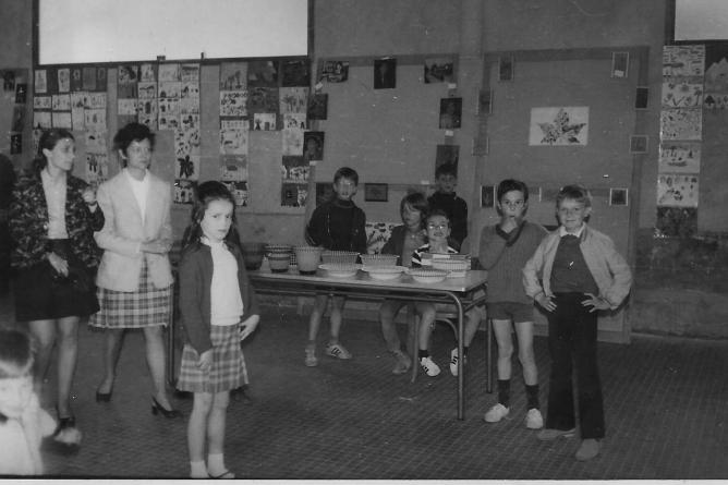 1970 exposition scolaire