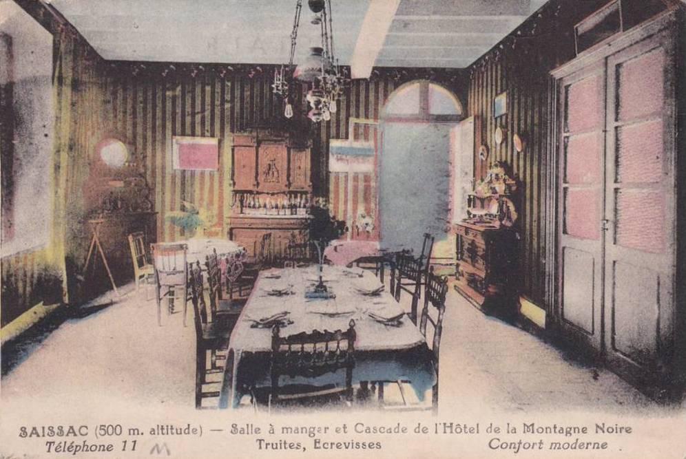 Cafe Hotel Restaurant De La Montagne Noire