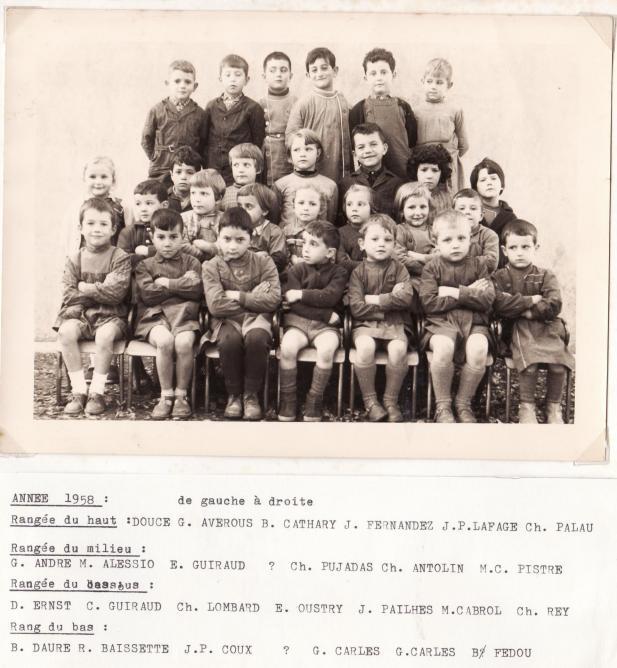 Ecole 1958