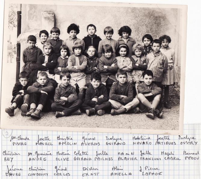 Ecole 1961 bis