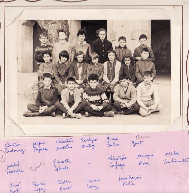Ecole 1965 ou 66